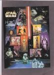 Sellos del Mundo : America : Estados_Unidos : Nan Solo y Chewbacca  abordan la nave espacial Millenium