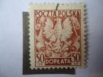 Sellos de Europa - Polonia -  Escudo de Armas - Aguila (Groszy zloty)