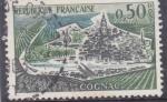 Stamps : Europe : France :  población de Cognac