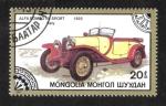 Sellos de Asia - Mongolia -  Automóviles Clasicos, 1922 Alfa Romeo RL Sport, Italy