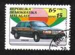 Stamps Africa - Madagascar -  Automóviles