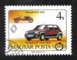 Stamps Europe - Hungary -  Centenario de los coches