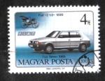 Sellos de Europa - Hungría -  Centenario de los coches
