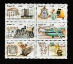 Stamps Brazil -  Servicio de telegrafía