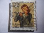 de Europa - Alemania -  Joseph Joachim (1831-1907) 100 Aniversario de la Academia de Música de Berlín.