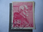 de Europa - Portugal -  Profesor, Gomez texeira (1851-1951) - 100 Aniversario del Nacimiento del Matemático e Historiador.