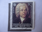 Stamps Europe - Germany -  Johann sebastian Bach (1685-1750) -Europa (C.E.P.T) Alemania-Berlín.
