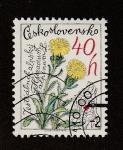 Stamps Europe - Czechoslovakia -  Lengua alpina