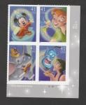 Stamps America - United States -  Mickey, aprendiz de brujo