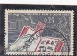 Stamps : Europe : France :  PHILATEC PARÍS-1964