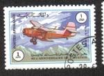 Stamps : Asia : Afghanistan :  40 Aniversario de la Aviación, Antonov AN-2