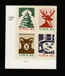 Sellos de America - Estados Unidos -  Arbol Navidad