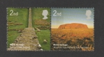 Stamps United Kingdom -  Patrimonio de la humanidad