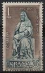 Sellos de Europa - España -  Año Santo Compostelano (Santa Brigida d´Vadstena)