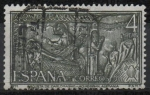 Sellos del Mundo : Europa : España : Año Santo Compostelano (Arqueta d´Carlomagno, Aquisgran Alemania)