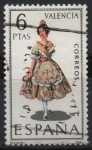 Stamps Spain -  Valencia