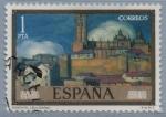 Sellos de Europa - España -  Vistas d´Segovia