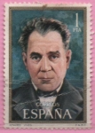Stamps Europe - Spain -  Amadeo Vives