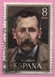 Stamps Spain -  Benito Perez Galdos