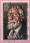 Stamps Spain -  Ramon Menendez Pidal