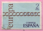 Stamps Spain -  Europa 1971