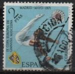 Sellos del Mundo : Europa : España : IX Campeonato europeo d´gimnasia masculina (Barra Fija)