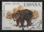 Stamps Spain -  Fauna hispanica (Oso Pardo)