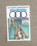 Stamps Greece -  Baloncesto