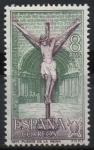 Stamps Europe - Spain -  Año Santo Compostelano (Iglesia d´Crucifijo, Puente d´l´Reina Navarra)