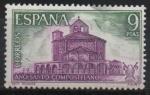 Stamps Europe - Spain -  Año Santo Compostelano (Iglesia romanica d´Eunate Navarra