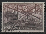 Stamps Spain -  IV centenario d´l´Batalla d´Lepanto (Batalla d´Lepanto)