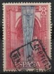 Sellos de Europa - España -  IV centenario d´l´Batalla d´Lepanto (Pendon d´l´Santa Liga, Toledo)