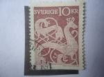 de Europa - Suecia -  Imagen Sobre Piedra.