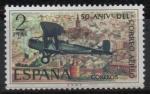 de Europa - España -  L aniversario d´correo aereo ( De Havilland DH-9