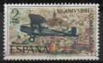 de Europa - España -   aniversario d´correo aereo ( De Havilland DH-9