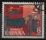 Stamps Spain -  Navidad 1971