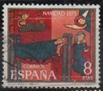 Stamps : Europe : Spain :  Navidad 1971