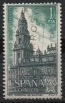 Sellos de Europa - España -  Año Santo Compostelano (Catedral d´Santiago)