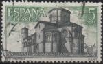 Sellos de Europa - España -  Año Santo Compostelano (Iglesia d´San Martin Fromista)
