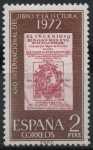Stamps Spain -  Año internacional d´Libro y la Lectura