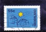 Stamps Netherlands -  DIBUJO NIÑOS