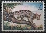 Sellos del Mundo : Europa : España :  Fauna hispanica (Gineta)