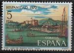 Sellos de Europa - España -  Hispanidad Puerto Rico (Vistas d´San Juan d´Puerto Rico)