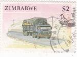 Sellos del Mundo : Africa : Zimbabwe : TRANSPORTE