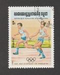 Stamps Cambodia -  Juegos olímpicos 1984