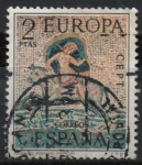 Stamps Spain -  Europa 1973 (Racto d´Europa)