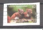 Sellos de Europa - Alemania -  Crias de Animales. Ardilla Y2936 adh