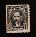 Stamps Honduras -  Paz Baraona