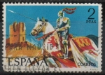 Stamps Spain -  Guardia Vieja d´Castilla