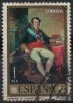 Stamps Spain -  Fernando VII